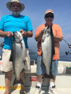 King Salmon fishing the eastern basin on lake ontario, NY